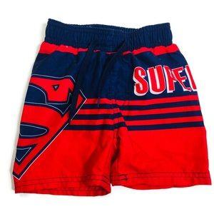 Superman toddler 12-18M swimming shorts